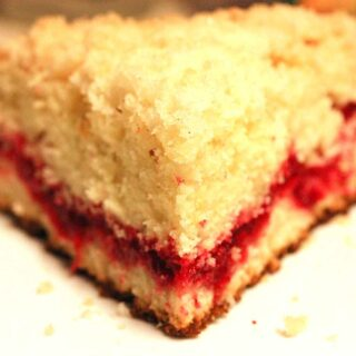 Scrumptious Cranberry Vanilla Coffee Cake