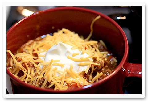 Weekend Chillin' Chili