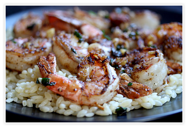 Smoky Pepper Shrimp