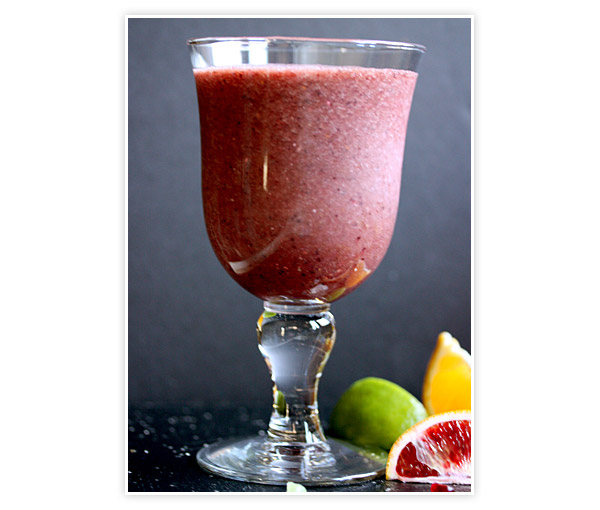 Winter Fruit Smoothie