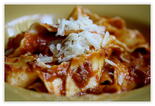 Bolognese and Cookbook Redemption