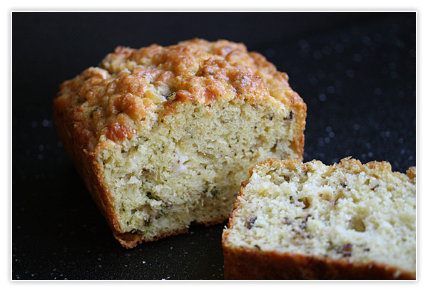 Savory Cheese and Chive Quick Bread