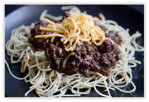 Cincinnati Chili … Sort of … Not Really