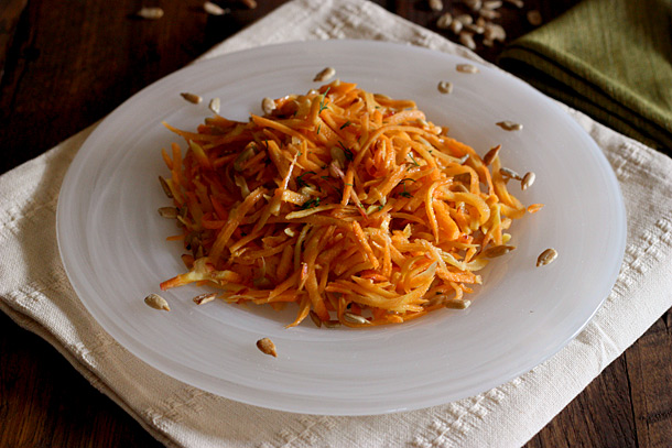 Carrot & Seed Salad