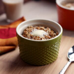 Baked pumpkin pie oatmeal 1