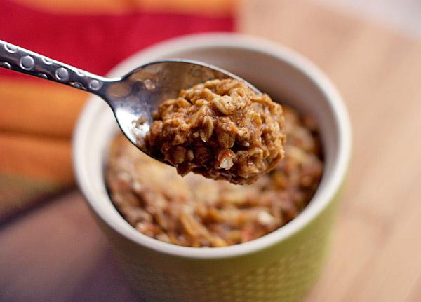 Baked pumpkin pie oatmeal 3