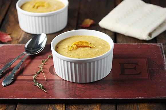 Roasted Cauliflower Squash Soup 1