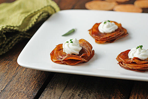 Sweet Potato Smoky Stacks - SoupAddict.com