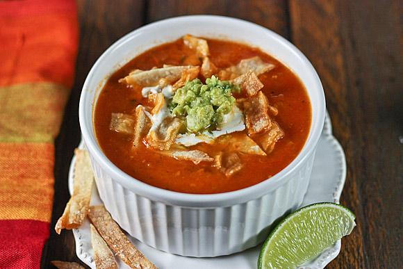 Tomato Guacamole Soup 3