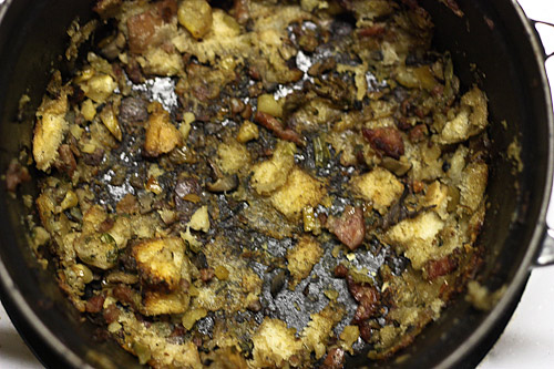 ... and chestnut stuffing sausage stuffing italian sausage mushroom