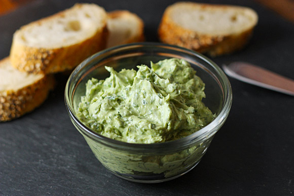Green Goddess Crostini
