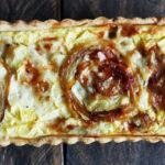 Gorgonzola Dolce & Apple Quiche