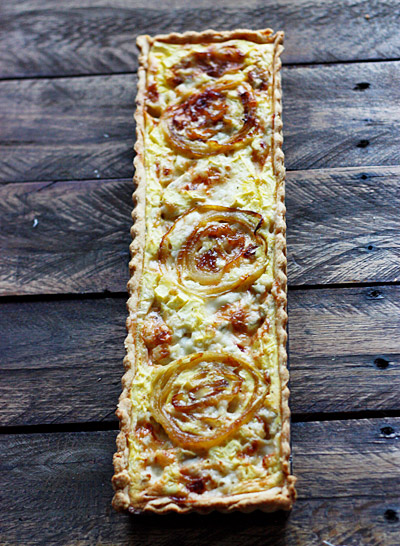Gorgonzola Dolce & Apple Quiche 3