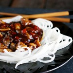 Thai Chicken with Rice Noodles 1