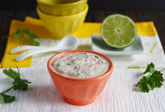 Wickedly good fish taco sauce | SoupAddict.com