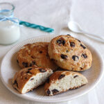 Chocolate Chip Brioche Rolls