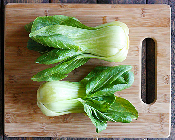 Grilled Baby Bok Choy 1