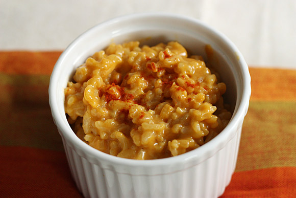 Cheddar Risotto with Paprika 3