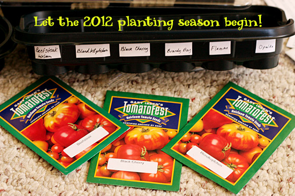 Let the 2012 planting season begin!