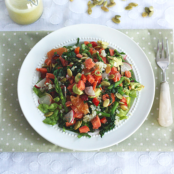 Spring Superfoods Salad