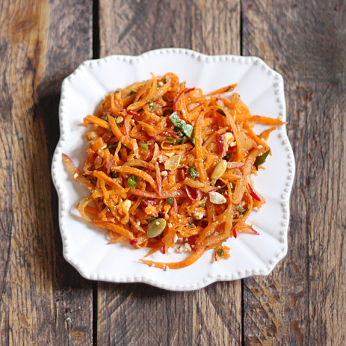 Moroccan Radish & Carrot Salad
