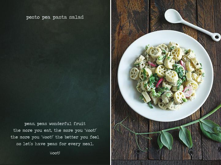 Pesto Pea Pasta Salad
