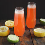 Spiked Strawberry Limonade Spritzers