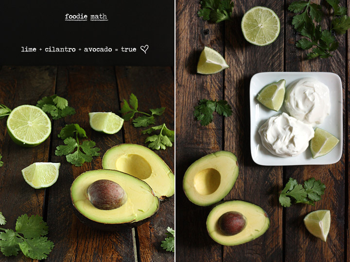 Grilled Portabella Tacos with Avocado Lime Crema