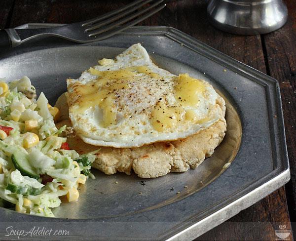 Fried Egg Pupusas