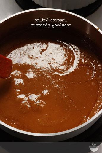 Salted Caramel Custard Mini Pies Soupaddict Com