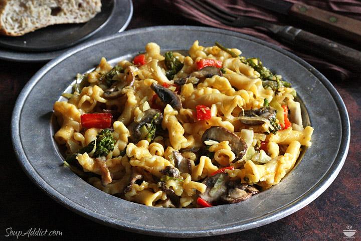 Autumn Vegetable Pasta
