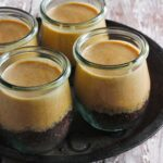 Pumpkin Cheesecake Bars in Jars | SoupAddict.com