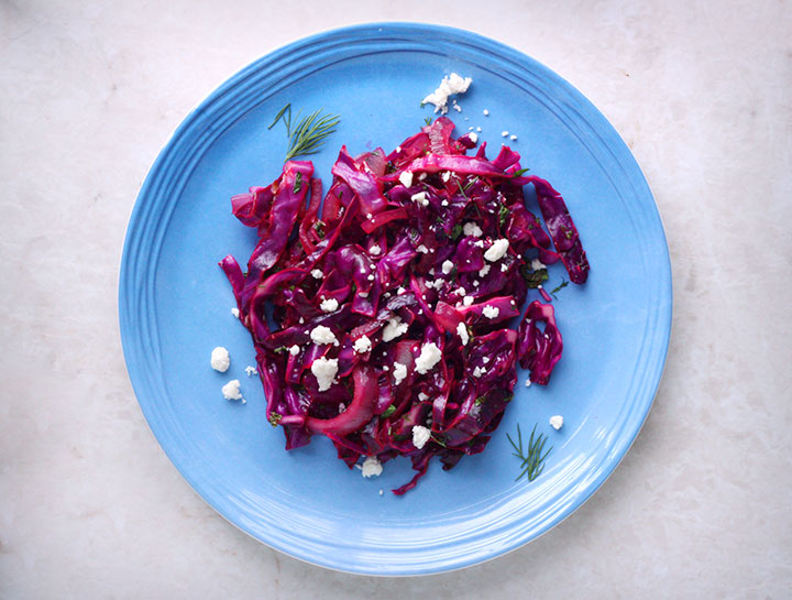 wilted red cabbage 1