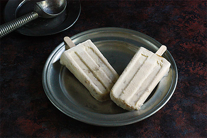 Bananas Foster Creamsicles