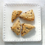 brown-butter-chocolate-chip-oatmeal-scones-featured