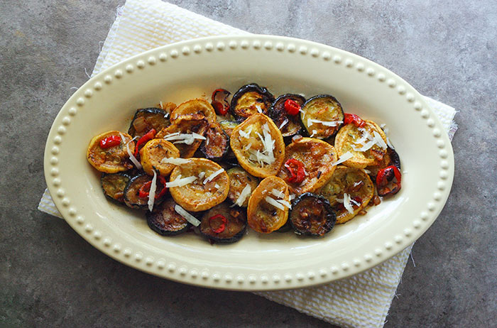 Roasted Summer Squash with Pimenton | SoupAddict.com