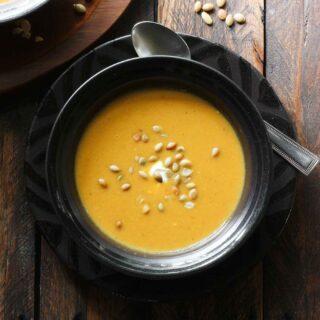 Curried Pumpkin Apple Soup