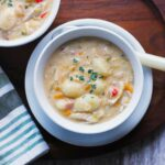 Veggie Loaded Chicken Gnocchi Soup | SoupAddict.com
