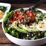 Vegetarian Cobb Salad Lentil Bowl | SoupAddict.com