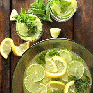 Karen's Zesty Lemon Lime Mojitos for Four