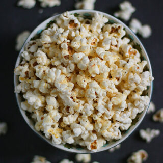 Parmageddon Popcorn – the Best Homemade Popcorn