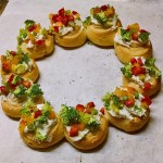 Christmas Wreath Appetizers from SoupAddict.com