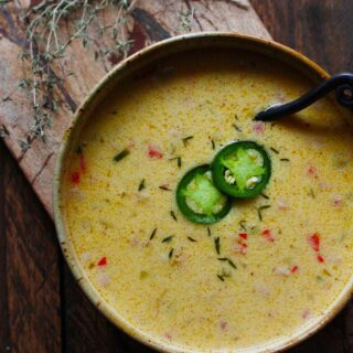 Jalapeño Beer Cheese Soup