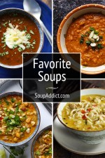 Favorite Soups from Soupaddict.com