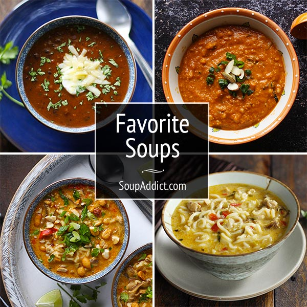 Favorite Soups and Staying in Touch