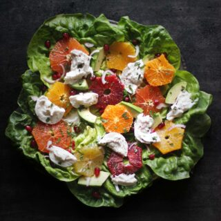 Winter Citrus Salad with Burrata