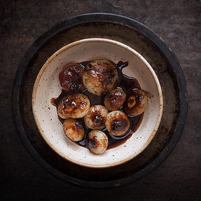 Braised Balsamic Cipollini Onions