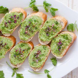 Broccoli Stem Pesto | SoupAddict.com