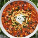 Chicken Enchilada Soup | SoupAddict.com