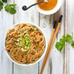 Extra Peanutty Peanut Soba Noodles | SoupAddict.com